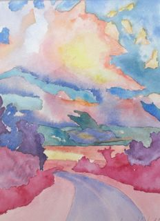 Kentucky Sky by Annie Nashold, Artist, Durham, North Carolina