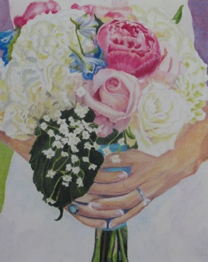 Carrie & Nick Bouquet by Annie Nashold, Durham, NC